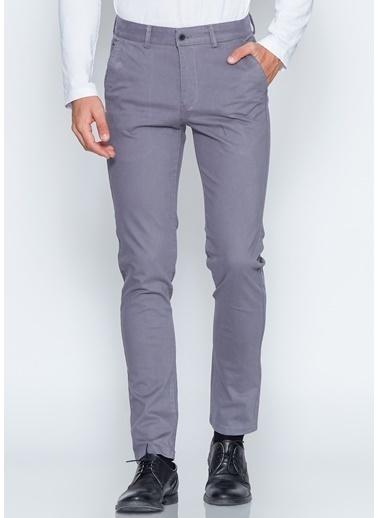 Adze Slim Fit Pantolon Gri